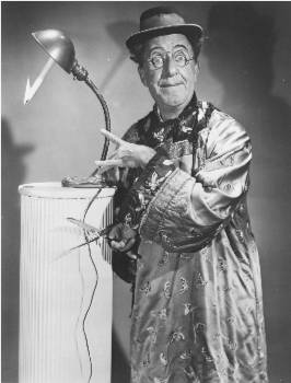 Ed Wynn hosted the first live network TV show to be aired from Hollywood
