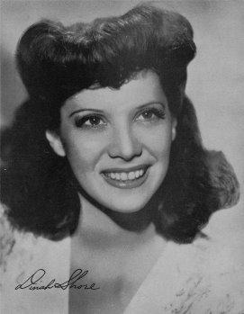 Dinah Shore, circa 1946