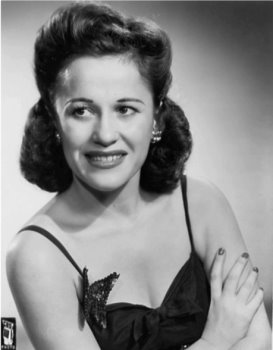 Georgia Gibbs in a CBS photograph from 1946