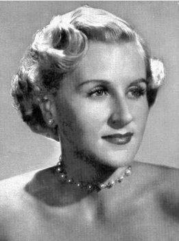 Capitol Records recording artist Margaret Whiting, in a promotional photo from 1947