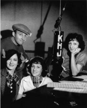 Bing Crosby and the Boswell Sisters, circa 1933