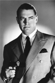 On screen, actor Chester Morris played Boston Blackie