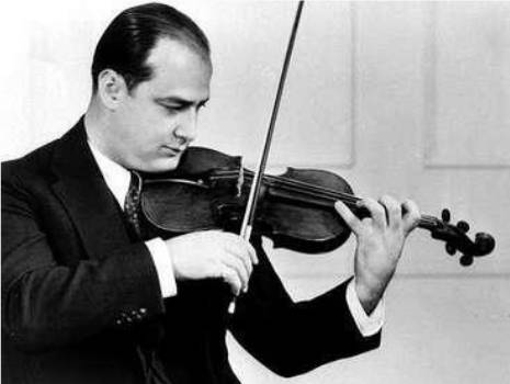 "Violinist Joe Venuti is featured on ""Friendly Five Footnotes"""