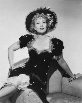 "Ann Sothern as the irrepressable Maisie Ravere in ""Congo Maisie"" (1940)"