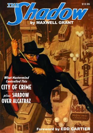 The Shadow pulp reprint